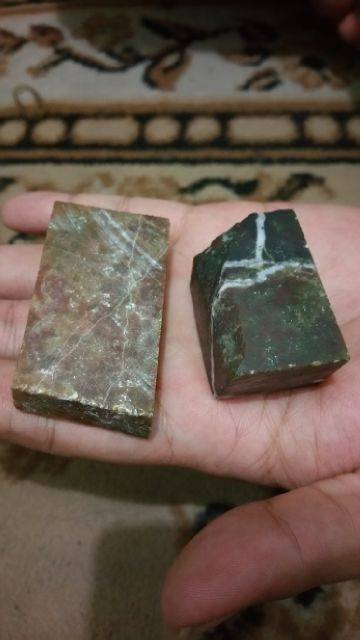 Jual Ring Cincin Batu Akik Perak Dan Titanium Murah