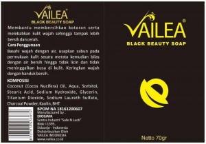 Vailea Black Beauty Soap