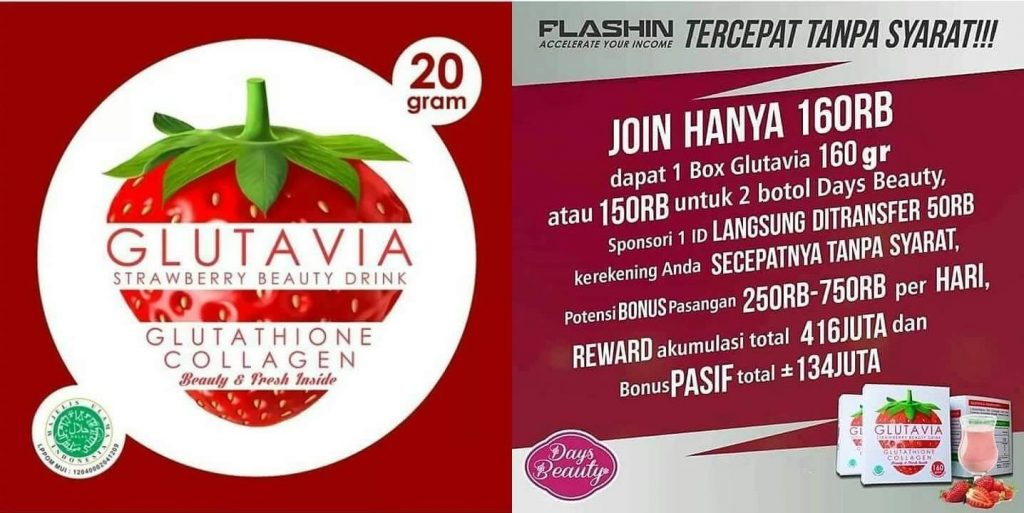 Join Flashin Glutavia dan Days Beauty